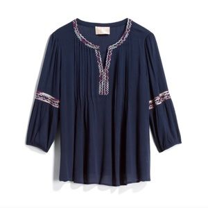 Skies Are Blue Elletra Embroidered Top